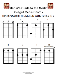 Merlin Tuned To C For Pop Songs In 2019 Seagull Guitars