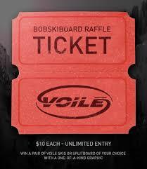 bob athey raffle ticket voile