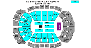Ed Sheeran Sprint Center