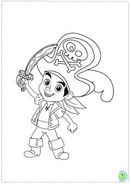 Small Picture Jake and the Neverland Pirates coloring page DinoKidsorg