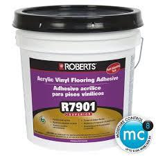 roberts r7901 acrylic vinyl flooring adhesive 1 gal