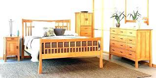 craftsman style bed plans frame shaker