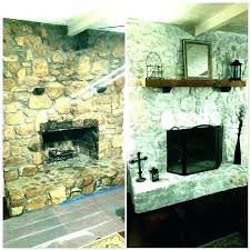 resurface a brick fireplace cost to reface fireplace cost to reface brick fireplace with stone veneer