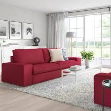 kivik sofa orrsta red ikea in 2021