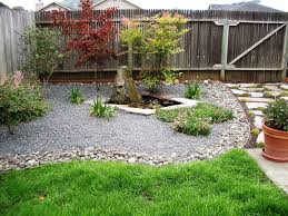 ... Small Backyard Landscaping Ideas On A Budget Simple Small Backyard Landscaping  Ideas Stone Garden ...