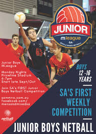 Barossa Light And Gawler Netball Men Boys Netball Sa