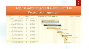 What Are The Benefits Of Using A Gantt Chart Top 10 Advantages Of Gantt Chart In Project Management