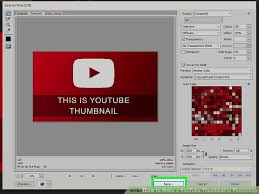 photoshop thumbnail how to make a youtube thumbnail in photoshop 6 steps