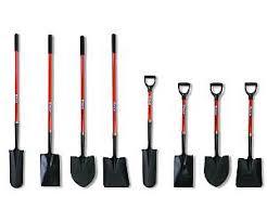 hisco shovels and spades