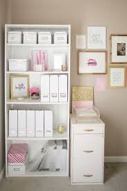 my dreamy office gold pink white and maybe a bit of