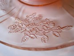 Pink Depression Glass Patterns Custom Tea With Friends Pink Glass Discoveries Old And New