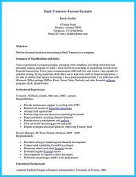 Nice One Of Recommended Banking Resume Examples To Learn Career