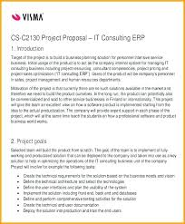 For Business Consulting Proposal Template Consulting