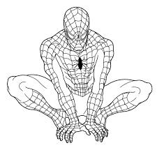 Disegni Da Colorare Di Spiderman Uomo Ragno The Baltic Post