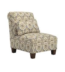 contemporary fabric armless chair polyester upholstery material