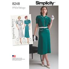 Vintage Simplicity Patterns Magnificent Decoration
