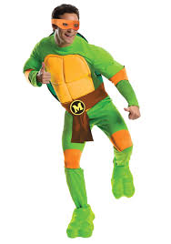ninja turtles costumes for men. Fine Men Deluxe TMNT Michelangelo Mens Costume  On Ninja Turtles Costumes For Men T