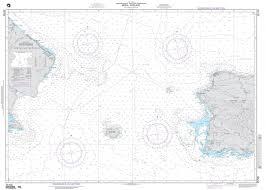 Nga Nautical Chart 25700 Mona Passage