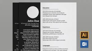 Resume Template Word Minimalist Resume Template Word A100 And US Letter YouTube 61