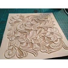 pdf leather craft pattern long wallet pattern leather purse pattern instant western 6 leather tracking patterns
