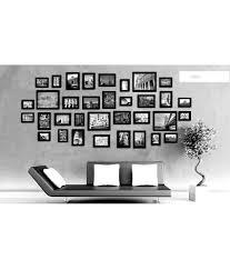 modern picture frames collage. Blacksmith Black Modern Photo Frame Collage (34 Piece) Picture Frames