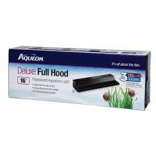 Aqueon Hood Light T8 Fluorescent Deluxe Full Hoods Aqueon