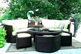 outdoor wicker furniture cushion covers slipcovers for rattan resin patio kitchen
