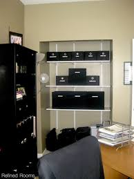 home office organizing. Adding Adjustable Shelving To A Closet As Part Of The Home Office Organizing Process