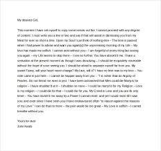 Love Letter Free Download 7 Romantic Love Letter Templates Doc Pdf Free Premium Templates