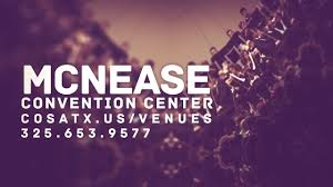 Mcnease Convention Center Seating Chart Mcnease Convention Center City Of San Angelo Tx