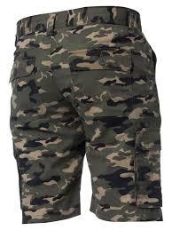 Designer Camo Pants Details About Kruze Designer Mens Cargo Combat Shorts Casual Camo Work Camouflage Half Pants