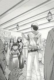 小説の挿絵5点若者と娘の冒険ファンタジー白黒の仕事依頼