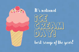 President ronald reagan declared the third sunday of july as national ice cream day and the month of july as national ice cream month. National Ice Cream Day Template Postermywall