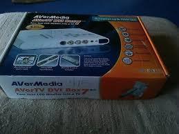 <b>AverMedia AverTv Hybrid</b> TVBox 11 New In Sealed Original Box