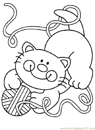 Small Picture Cat Colouring Pages Pdf Coloring Pages