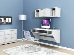 ikea wall desk modern bedroom area with wooden white painted wall mounted desk tall silver metallic