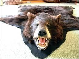 bear skin rug faux faux faux bear skin rug pattern bear skin rug faux