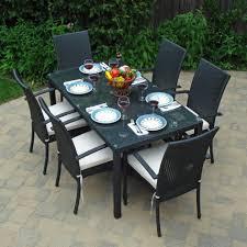 metal rectangular outdoor dining table. home depot outdoor dining table 9 piece patio set contemporary furniture metal rectangular