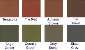 terracotta tile red autumn brown tile brown sage green country green