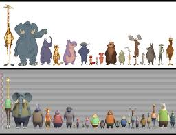 I Made A Height Chart Comparing Major Characters With Each