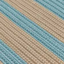 boat house light blue outdoor braided rugs