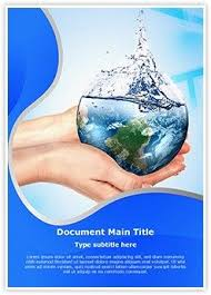 Save Word Templates Save Water Ms Word Template Is One Of The Best Ms Word Templates By