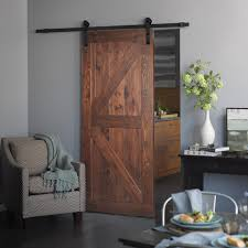 a picture of a contemporary barn door