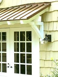 front porch awning diy door metal ideas kit