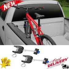 Pickup Truck Bed Bike Carrier Holder Side Mount Rack Bicycle Clamp ...