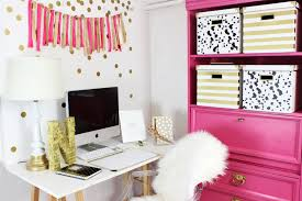 incredible pink office desk beautiful home. pink and gold office nook incredible desk beautiful home e