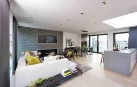 modern living room. Roman House Penthouse: Modern Living Room By The Manser Practice Architects + Designers N