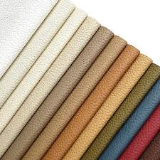all colors smart polyurethane faux leather pebbled texture for upholstery