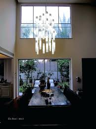 modern chandeliers for high ceilings modern chandelier for high ceilings