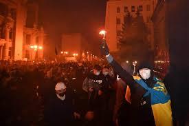 Ukraine is a country in eastern europe. Ukraine Manifestation Musclee Apres La Condamnation D Un Militant Tva Nouvelles